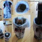 Filz-Polster für Flaschen