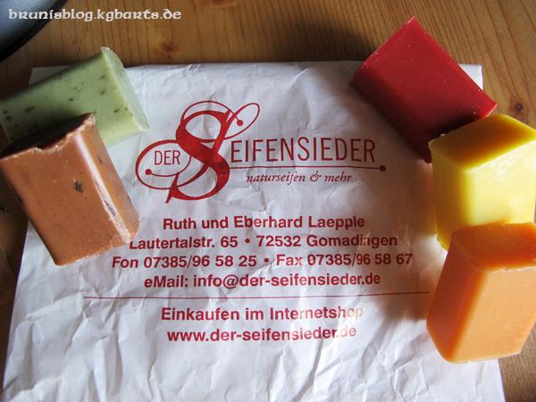 Mini-Seife vom Seifensieder