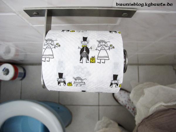 Hochzeits-Toilettenpapier